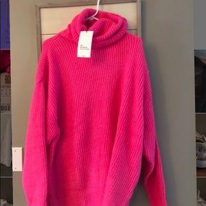 Pink Zara Sweater